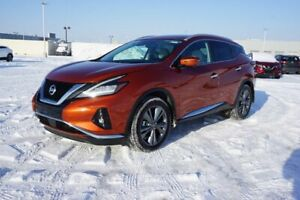 2020 Nissan Murano AWD PLATINUM Accident Free,  Navigation (GPS),  Leather,  Heated Seats,  Panoramic Roof,  Back-up Ca