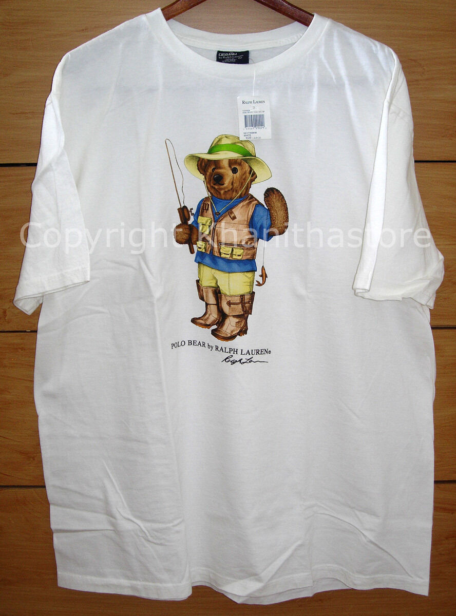 Polo Ralph Lauren Bear T-ShirtNEW WITH TAG Size LARGE
