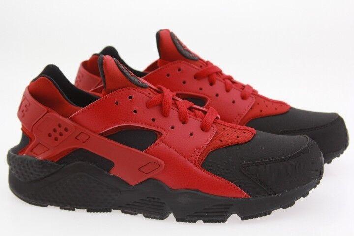 Los hombres Run de Nike Air huarache Run hombres PMR 704830-006 gimnasio Rojo Negro c1d533