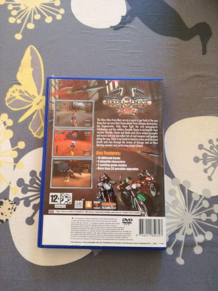 Biker mice from Mars, PS2