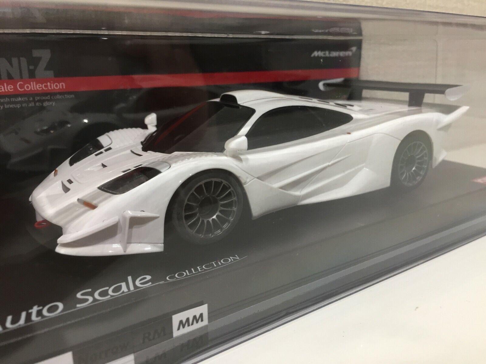 Ny S ällsynt Kyosho MINI-Z Racer kropp McLaren F1 GTR VITE från Japan F  S