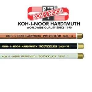 KOH I NOOR Black White Polycolor Blending Softening Pencils Sketching Artist