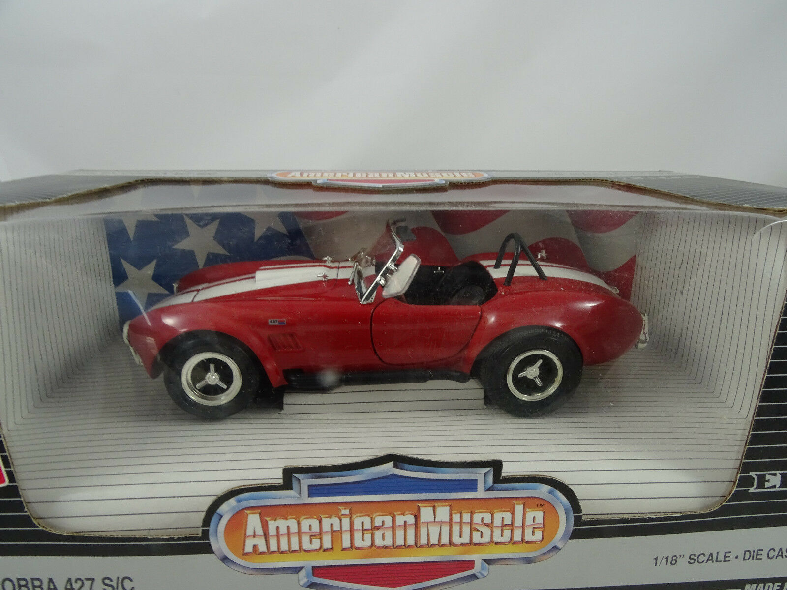 punto de venta en línea 1 18 ertl    7369 Shelby Cobra 427 S C rojo blanco-rareza §  garantizado