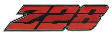 1980 1981 Camaro Z-28 Grille Emblem Z28 Red Tri Color