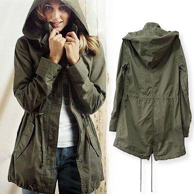 Hoodie Jacket Long Coat Women Winter Outerwear Autumn Tops Sweater Parka Hooded