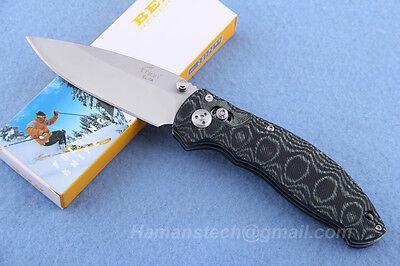 Enlan EL-04MCT Folding Knife G10 Handle Pocket knife Camping Knife Fishing Knife