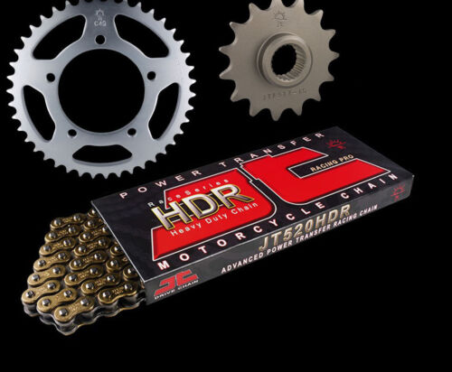 Aprilia 650 Pegaso 92-97 GOLD Heavy Duty HDR Chain /& Sprocket Set