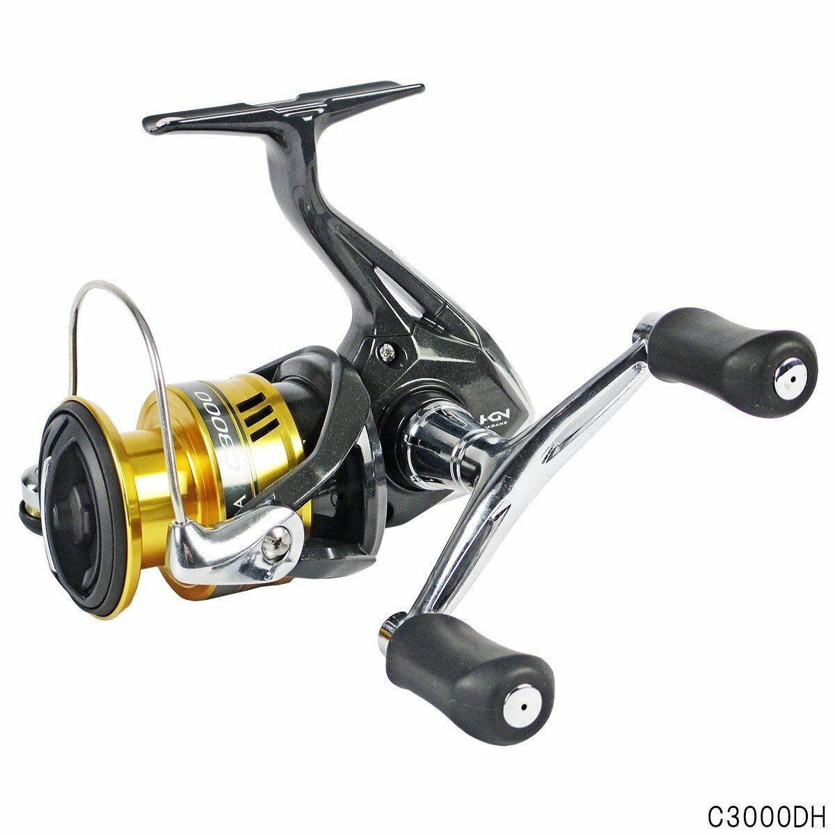 Shimano Spinning Reel 17 SAHARA SAHARA 17 C3000DH from japan 【Brand New in Box】 0c5732