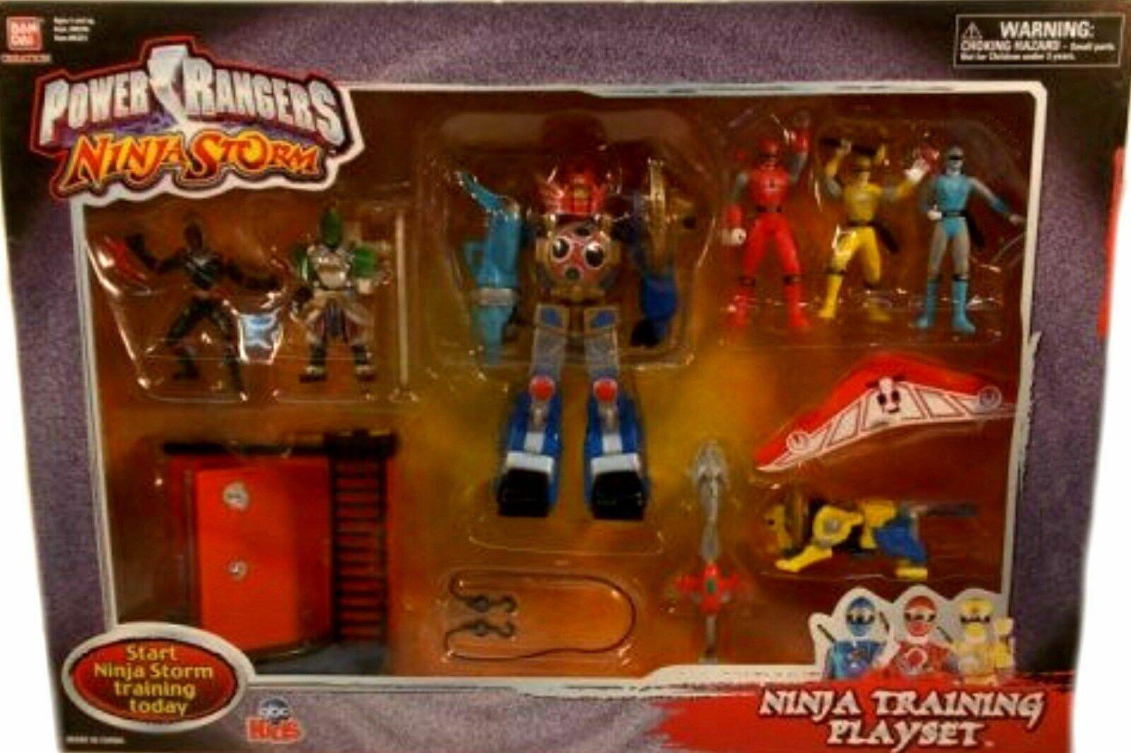 Power Rangers Ninja Storm Power 6  Megazord 4  GENARAL Choobo NEW FACTORY SEALED