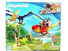 Playmobil 9430 Adventure Explorers Copter with Pterodactyl Dinosaur