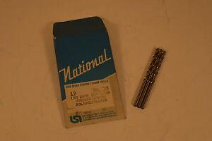 "Carbide Jobber Length Drill .1960/"" Size # 9"