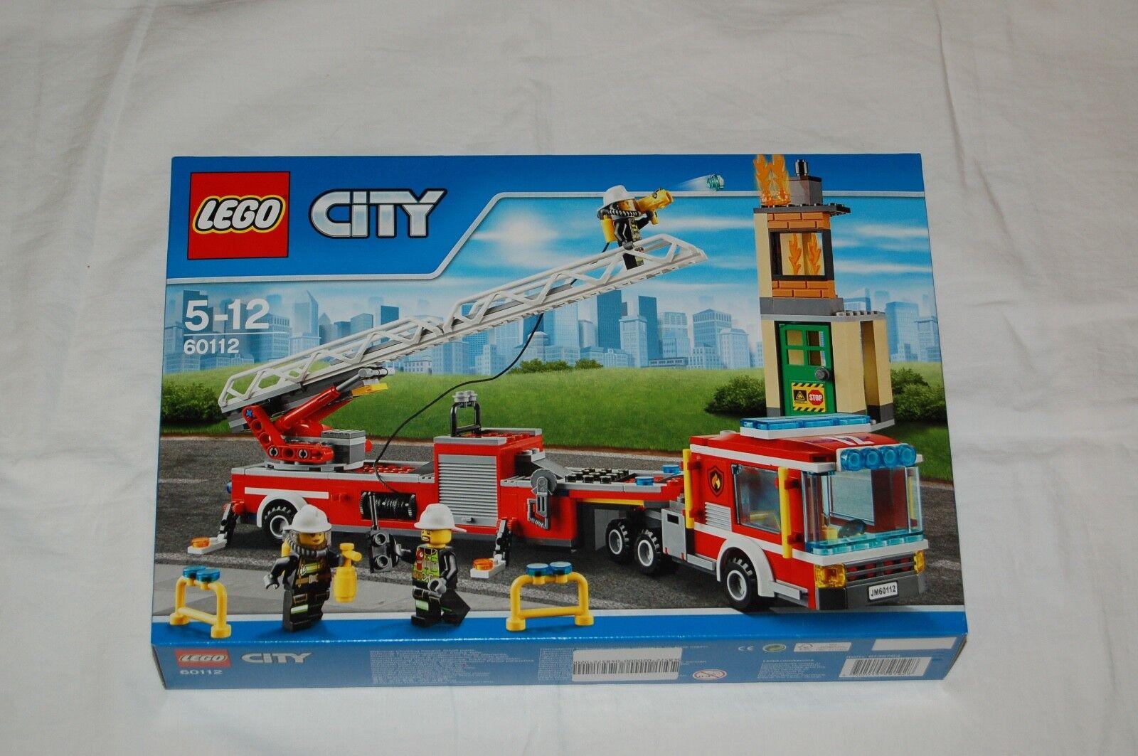 Lego City 60112 Feuerwehr Leiterwagen NEU  passt zu 60110,60109,60111,60004