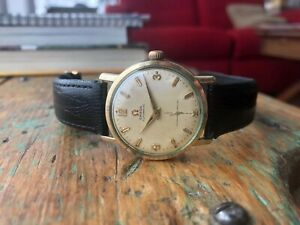 Rare-and-Vintage-Omega-Wristwatch-Cal-491-17j-Automatic-Working-perfectly