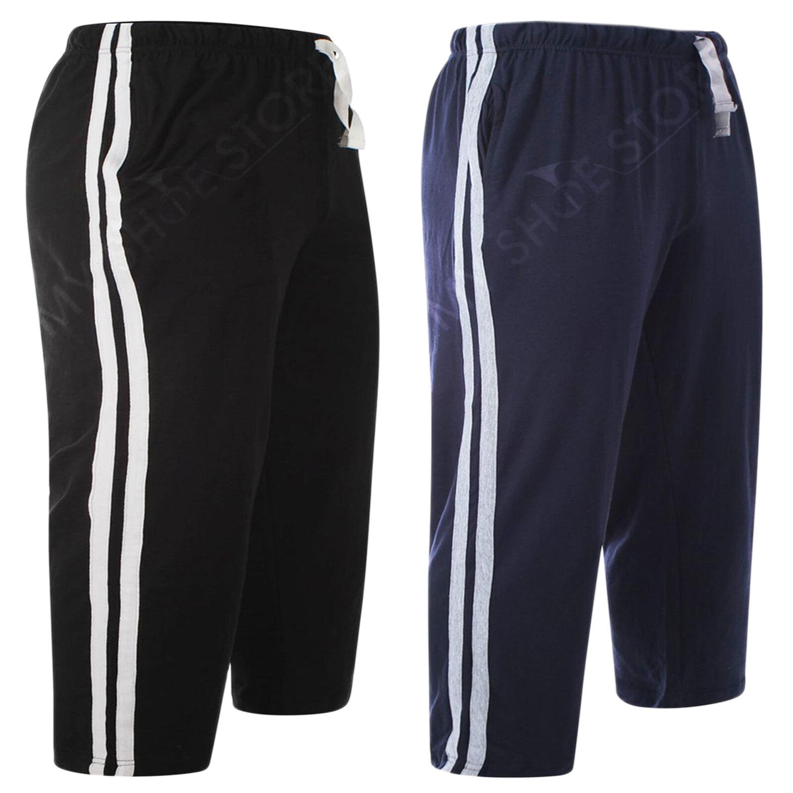 2 x Pack Homme Lounge Wear Nightwear Short Pyjama Nightwear Wear Pyjama Bas Pantalon Loisirs S-2XL f3a00b