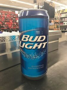 Details about Rare Collectible 29 1/2'' x 13 1/2'' FPO Promotion Bud Light  Can Mini Fridge