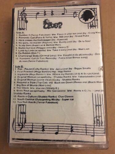 RARE! DJ Clue Hip Hop & Reggae #13 CLASSIC NYC Cassette Mixtape Tape Rap 90s