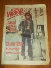 RECORD MIRROR JANUARY 13 1979 BILLY JOEL VILLAGE PEOPLE BOB MARLEY SIMPLE MINDS