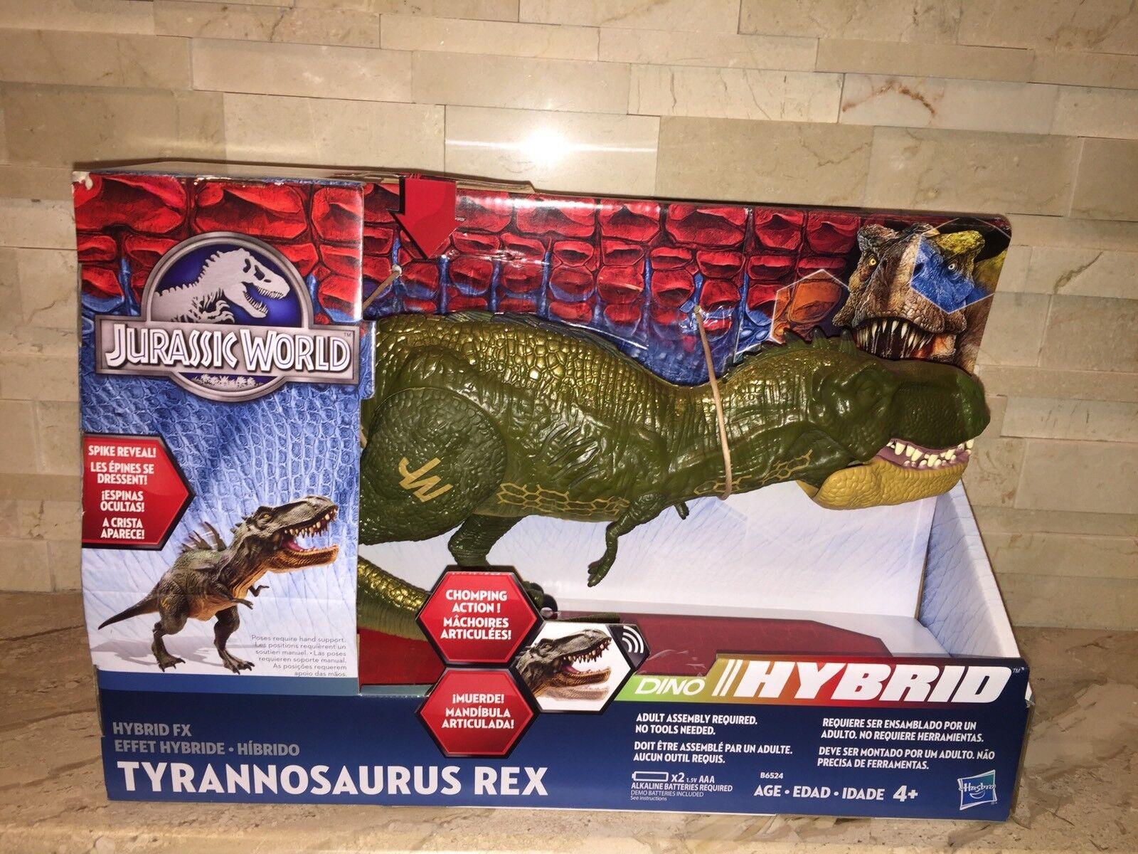 Tiranosaurio Rex Dinosaurio De Jurassic World híbrida con sonido
