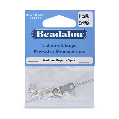 Beadalon® Lobster Clasps Findings Choose Color /& Size