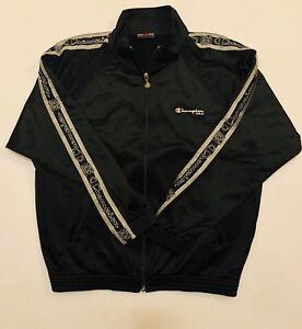 Dettagli su Champion USA Felpa Tuta Jacket Vintage Anni 90 Taglia SM