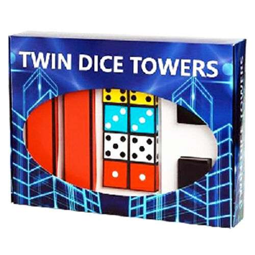 Twin Dice Torres por Joker Magia - Magia Scenic - Juegos de la magia