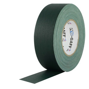 "Pro Tapes 2"" x 55 Yards Pro Gaff Tape - Green"
