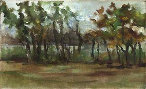 Russischer-Realist-Expressionist-Ol-Leinwand-034-Unwetter-034-50x30-cm