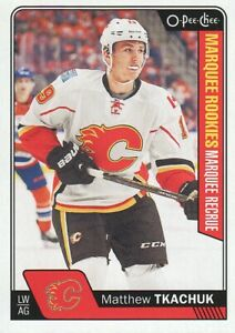 2016-17-O-Pee-Chee-Hockey-681-Matthew-Tkachuk-RC-Calgary-Flames