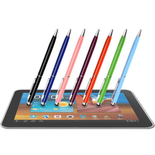 1//5//10X 2in1Touch Screen Stylus Ballpoint Pen for iPad iPhone Samsung TabletP ne