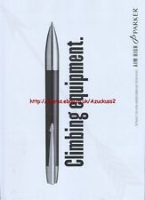 "Parker Pen ""Climbing Equipment"" 2005 Magazine Advert #2673"