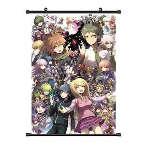 Anime-Danganronpa-Trigger-Happy-Havoc-Waterproof-Scroll-Poster-Nice