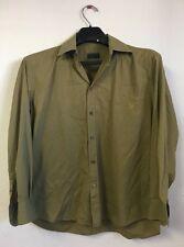Prada Dress Shirt, Light Green, Men's Size 40/15, Purchased in Rome At Prada