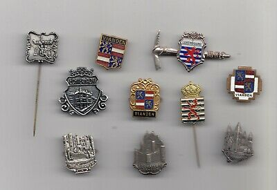 Vintage LUXEMBOURG pin badge brooches Anstecknadel Brosche Coat of Arms