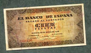 BILLETE-100-PESETAS-1938-SERIE-C8695286-EBC-APRESTO-NUEVO