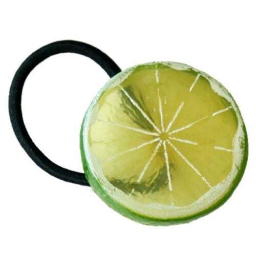 "cute and trendy 2/"" diameter Fruit elastic ponytail holder"
