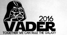 Star Wars Darth Vader Sith Lord Vinyl Decal with White Background 11inX7in