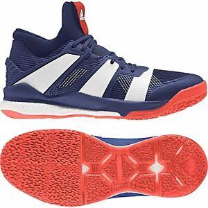 Détails sur Adidas Stabil X Mid CP9385 Homme Bottes ~ Handball ~ UK 14, 15 Seulement afficher le titre d'origine