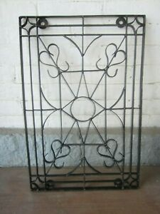 Vintage Wrought Iron Wall Decor Hanging