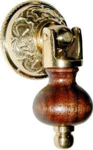 TEARDROP PULL SINGLE POST BW-1272 EASTLAKE STYLE WALNUT WOOD