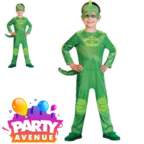 PJ ufficiale maschere Gekko per Bambini Libro Settimana Costume