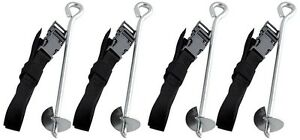 Anchor-Kit-Trampoline-Universal-Fit-Adjustable-Strap-Backyard-Storm-Safety