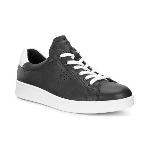 Ecco Soft 4 Ladies Chaussures Femmes Sneaker Cuir Basses 218033-50669 Black 7