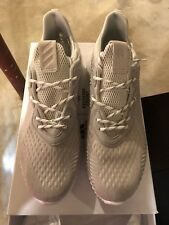 brand new ba6eb a5ae4 Adidas Mens Alphabounce Reigning Champ White Grey Mens Size 12 US