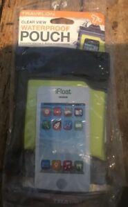 size 40 1f5b3 c013d Details about Travelon clear view waterproof pouch Ifloat Style 12505 float  travel pouch