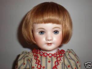 PARRUCCA-LUC-T4-24cm-100-capelli-naturali-per-BAMBOLA-VINTAGE-bambola