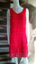 MAIS IL EST OU LE SOLEIL Robe rouge TAILLE 42 Valeur boutique 119€ #REF056/2