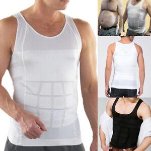 Men-Slimming-Vest-Body-Shaper-Compression-Waist-Tummy-Control-Underwear-Shirt