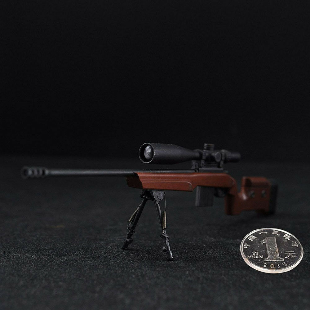 Copycat 1/6 Scale BVS Sniper Rifle Model For 12  Action Figure