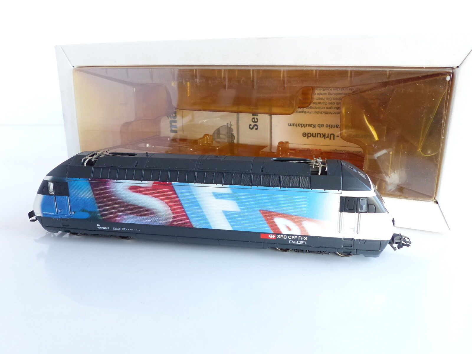 Marklin electric locomotive serie 460 schweizer Fernsehen sbb cff ffs