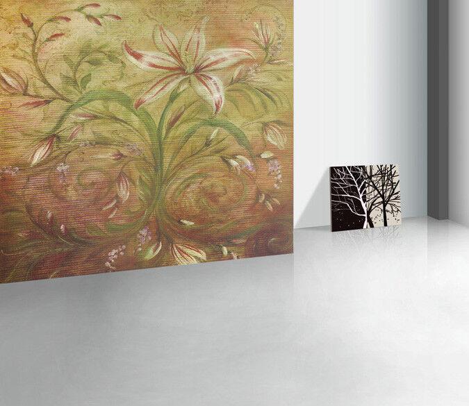 3D Lily Flowers 756 Wall Paper Murals Wall Print Wall Wallpaper Mural AU Kyra